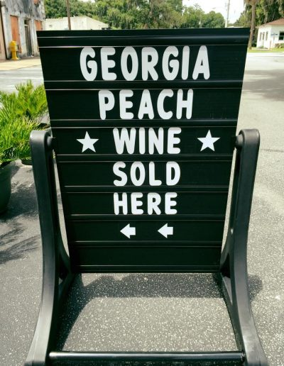 peachwinesign